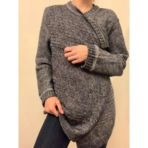 Open knit cardigan sweater by Lucky Brand
